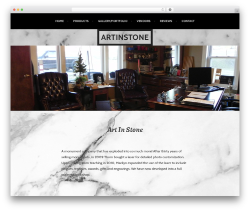 Argent WordPress theme download - artinstone-ky.com