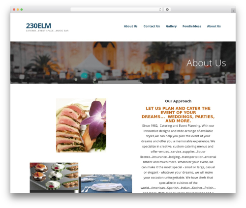 Ascension WordPress theme design - 230elm.com