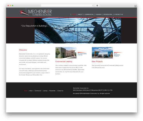 Avada WordPress theme - mechenbier.com