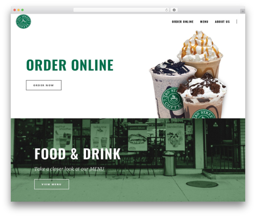 Barista best WordPress template - 3rdstreetcoffee.com