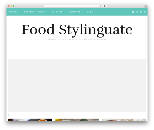 Best WordPress template Blossom Fashion - foodstylinguate.com