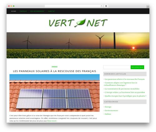Best WordPress template Di Blog - vertetnet.fr