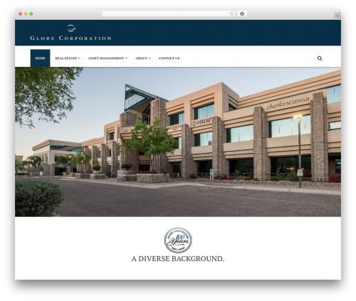 BestDeals real estate template WordPress - globecor.com