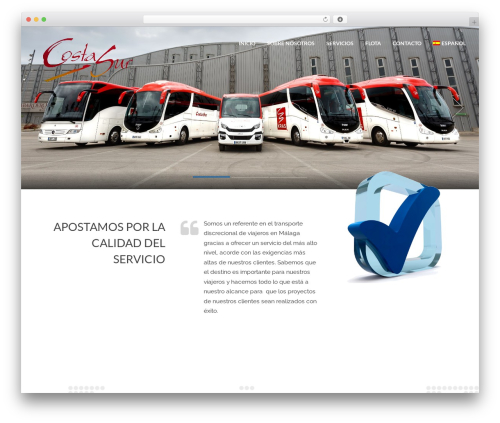 Cargo WordPress theme - autobusescostasur.com