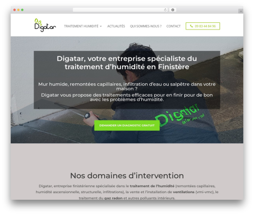 Divi theme WordPress - digatar.com