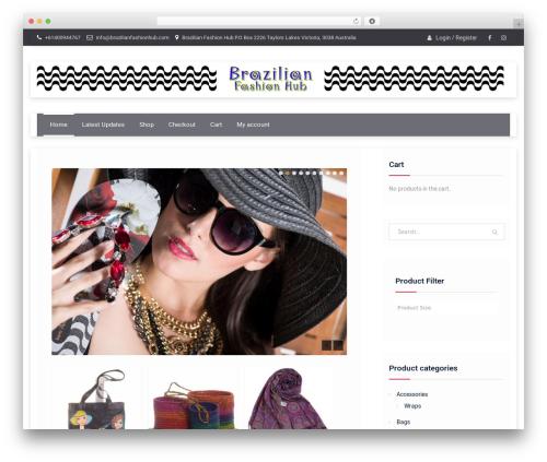 Easy Commerce WordPress theme free download - brazilianfashionhub.com