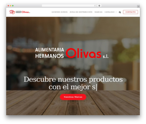 Futurio WordPress theme - hermanosolivas.com