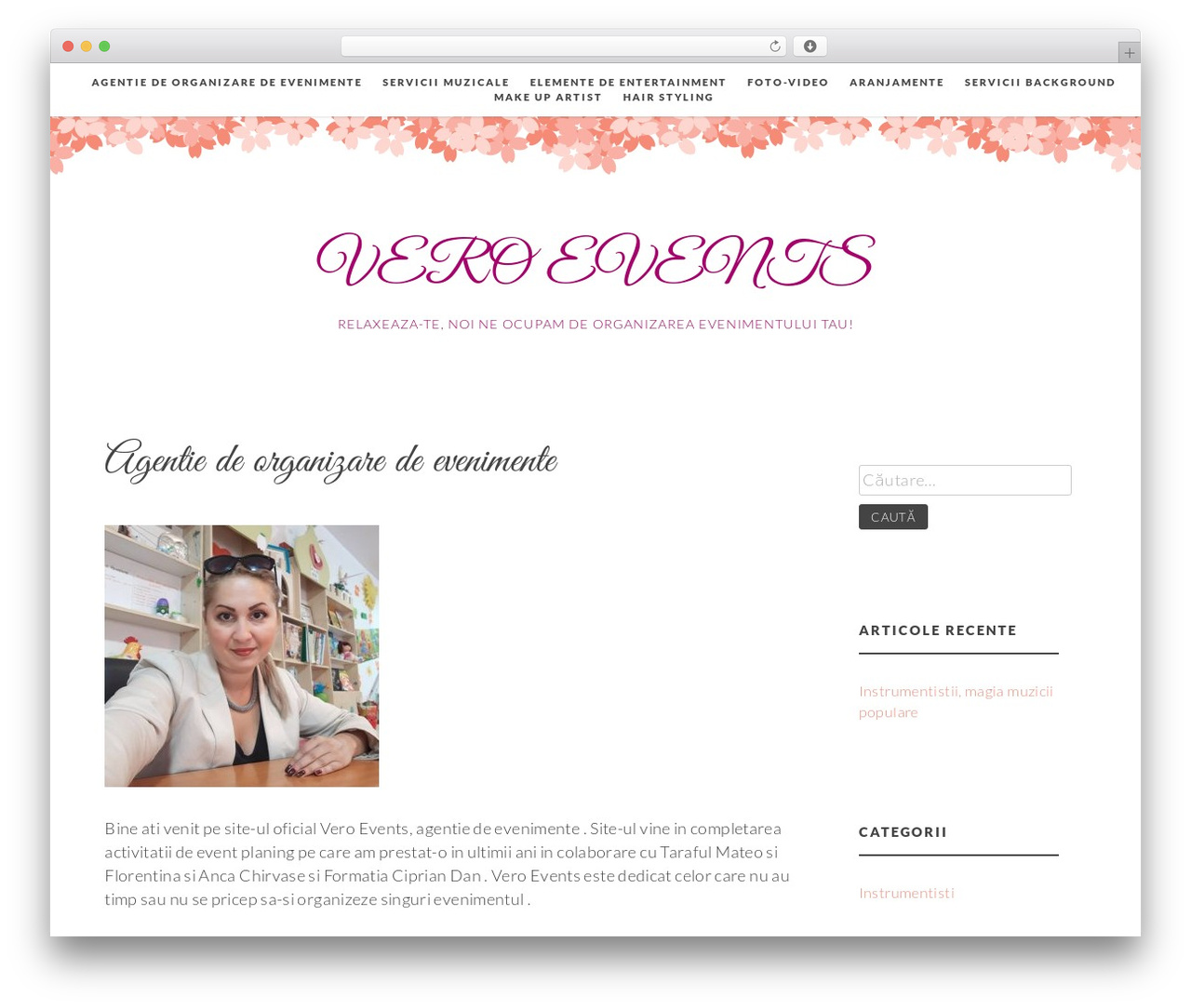 Germaine free WordPress theme - formatienunti.com