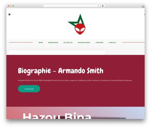 Hawthorn theme WordPress - armandosmith.com