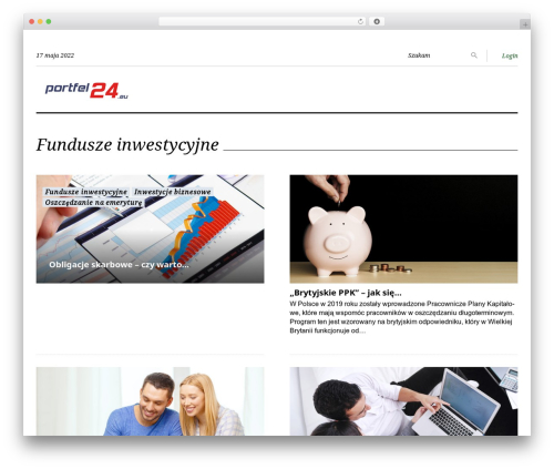 King News premium WordPress theme - portfel24.eu