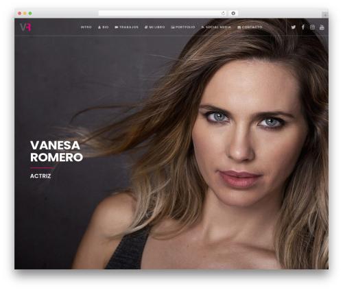 Movedo template WordPress - vanesaromero.es