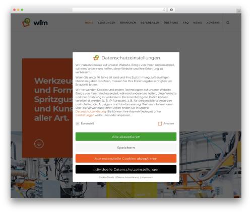 Movedo top WordPress theme - wfm-solutions.com