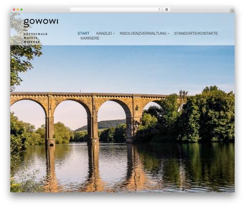 Template WordPress Bulan - gowowi.de