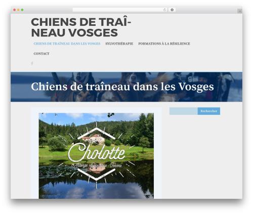 The Huxley WordPress theme - chiens-de-traineau-vosges.com