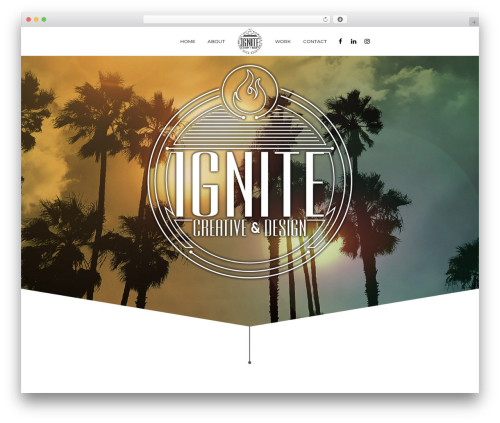 Theme WordPress Aku - ignitecreativeanddesign.com