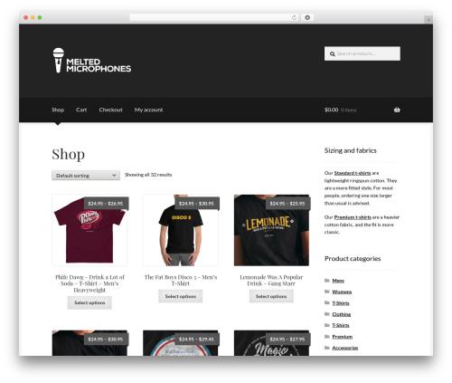 Theme WordPress Boutique - mltdmics.com