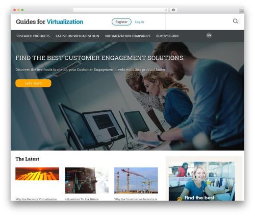 Theme WordPress Guides for CRM Wordpress Theme - guidesforvirtualization.com