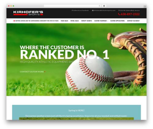 Theme WordPress VFS - kirhoferssports.com