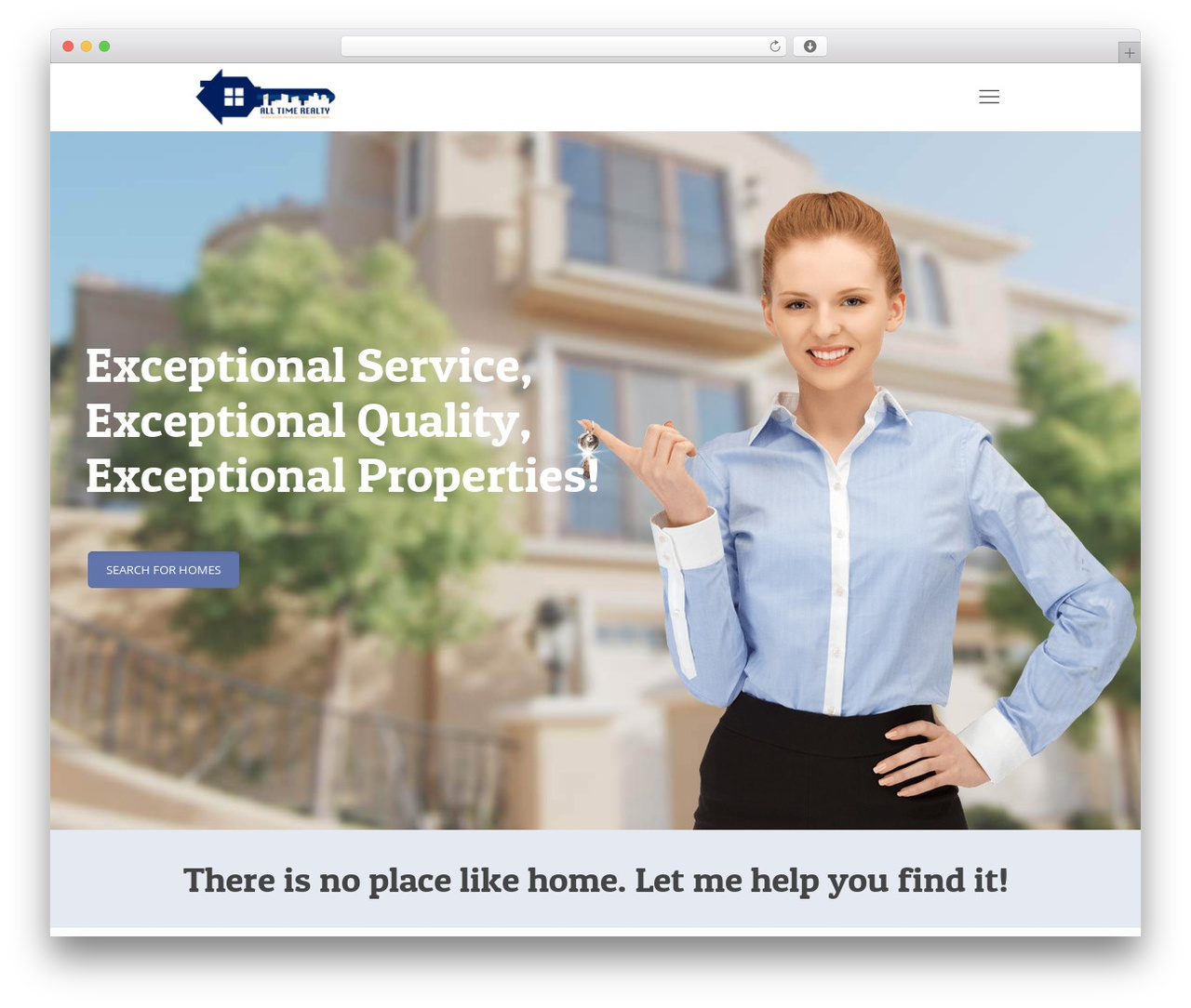 WordPress theme Betheme - alltimerealty.com