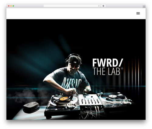 WP template FWRD - malik-official.com