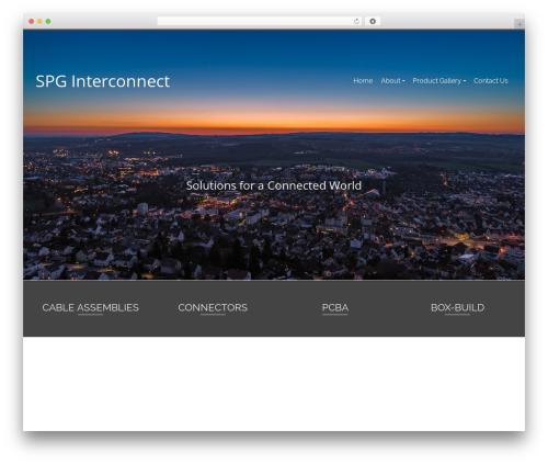 Best WordPress theme Pinnacle - spginterconnect.com