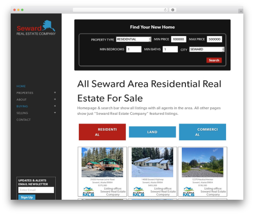 Bridge best real estate website - sewardrealestate.com
