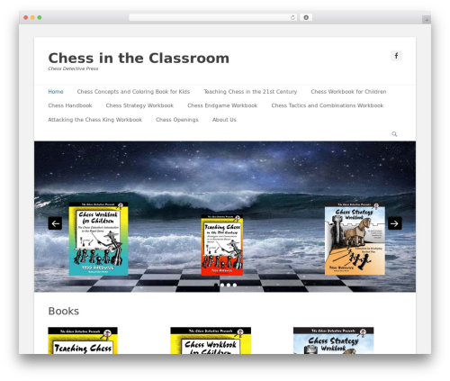 Catch Base Pro template WordPress - chessdetective.education