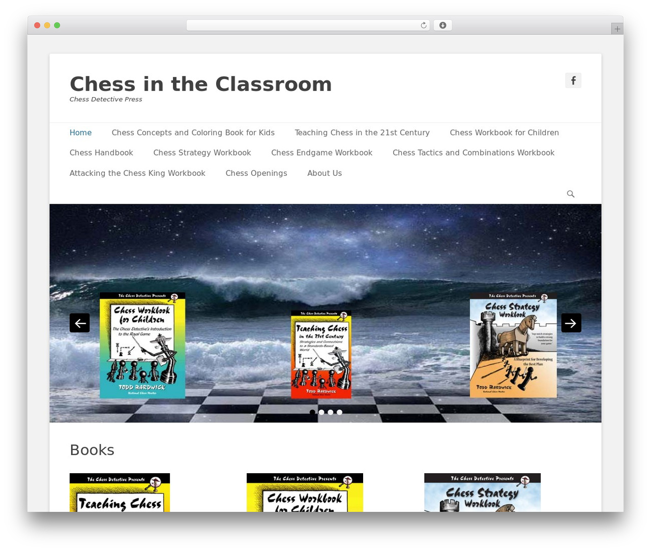 Catch Base Pro template WordPress - chessdetective.education