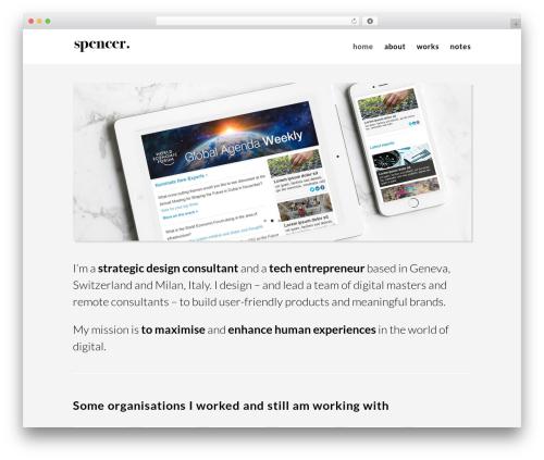 Divi WordPress website template - spencerdesign.ch