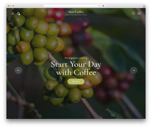 Hot Coffee WordPress theme - javajohns.com