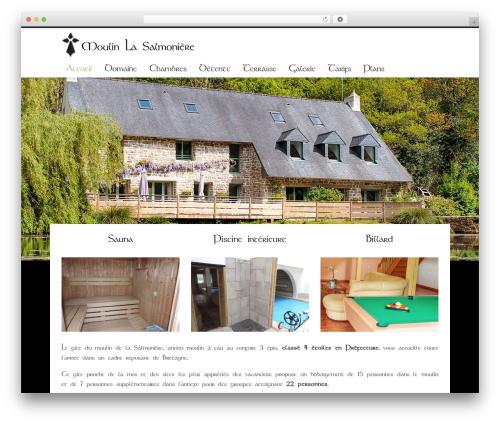 Hotec best WordPress template - moulinlasalmoniere.fr