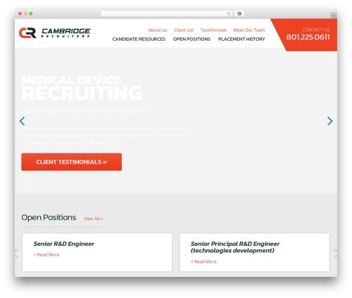 I-Tul Design & Software template WordPress - cambridgerecruiters.com