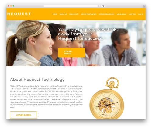 Jobify best WordPress theme - requesttechnology.net