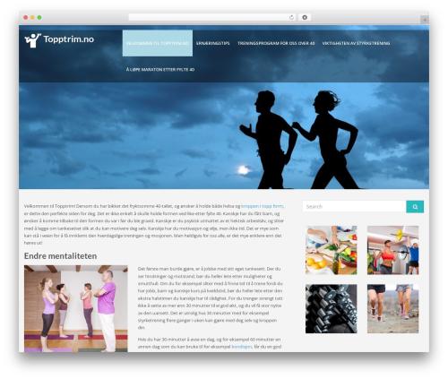 Lavish theme WordPress free - topptrim.no