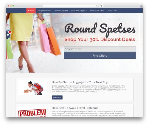 Stream Store Theme (Last) WordPress shopping theme - chapelwoodflorist.com