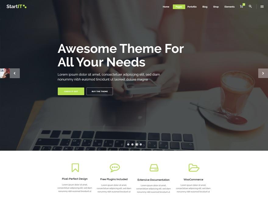 Template WordPress Emploi