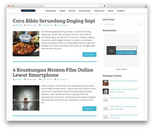 Theme WordPress Sensational by MyThemeShop - walter-c-uhler.com