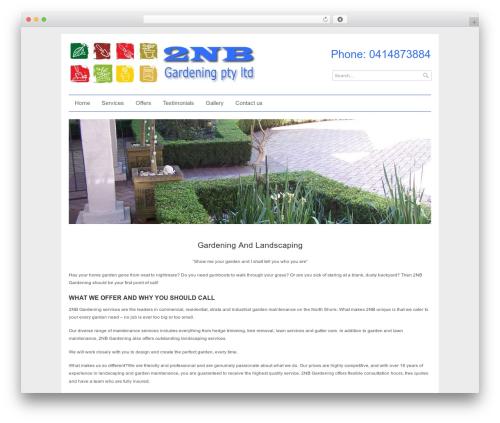 Ultra Business Wordpress Theme WordPress theme - 2nbgardening.com