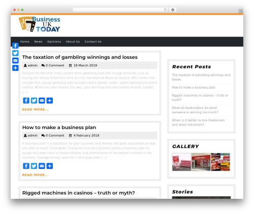 WordPress template Academic Education - ukbusiness-today.co.uk