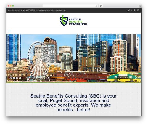 WordPress theme Betheme - seattlebenefitsconsulting.com