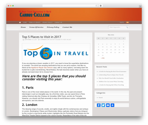 WordPress theme Headlines (Provided by Zazavy.com) - carrus-cicli.com