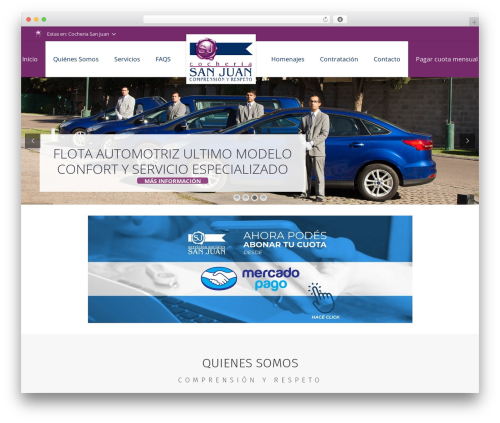 WordPress theme Impreza | Shared By Themes24x7.com - cocheriasanjuan.com