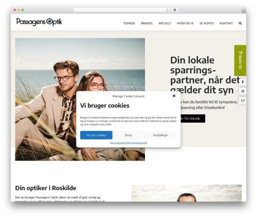 WordPress theme OnlinePlus Framework - passagensoptik.dk