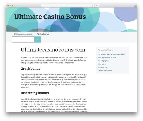 WP theme 2013 Blue - ultimatecasinobonus.com