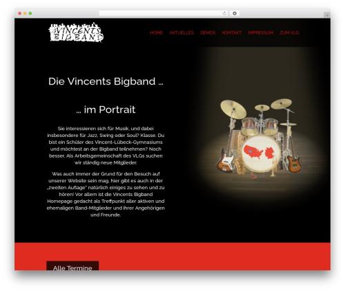 WP theme DI Basis � based on Divi 3.19.17 - vincents-bigband.com