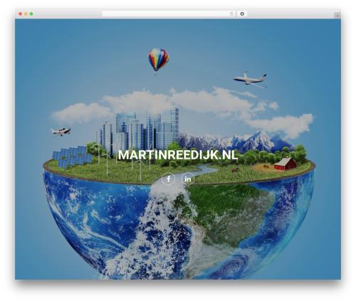 xPerson Lite theme WordPress - martinreedijk.nl