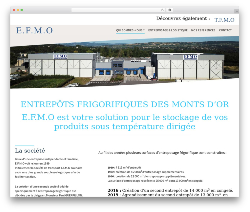 Agent Focused Pro WordPress theme - efmo.fr