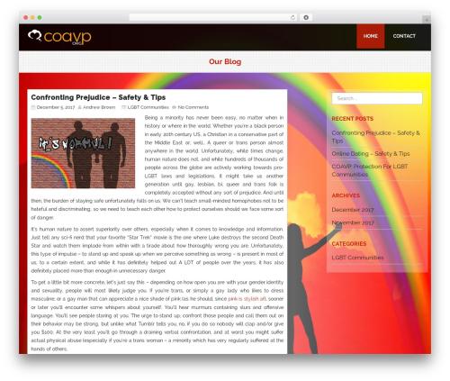 Avocation WordPress theme download - coavp.org