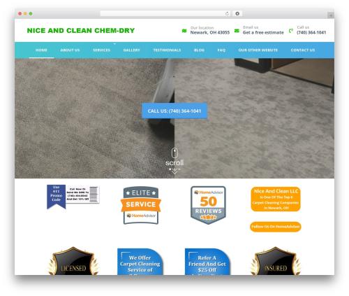 Best WordPress theme Divi - niceandcleanllc.com