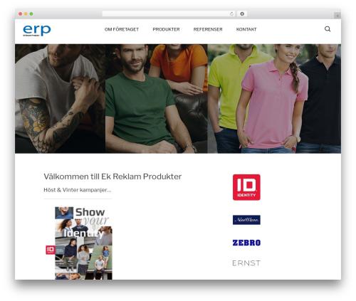 Best WordPress theme Hit - ekreklamprodukter.se